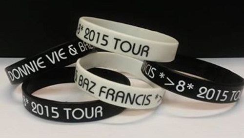 Donnie and Baz Tour Bracelet